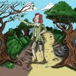 Nature woman color